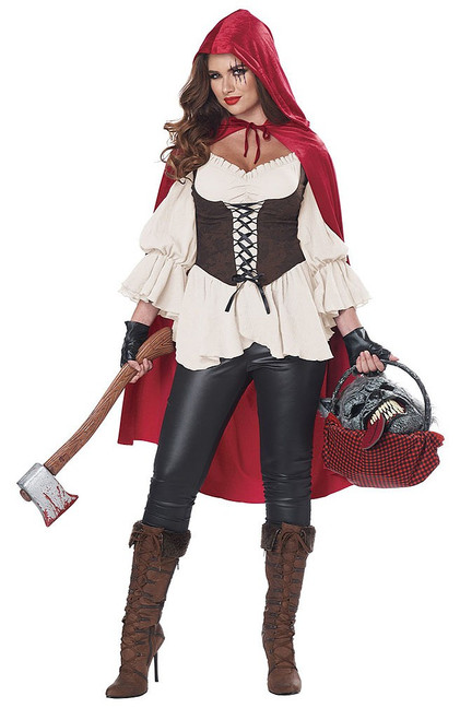Red Riding Hood Woman Costume