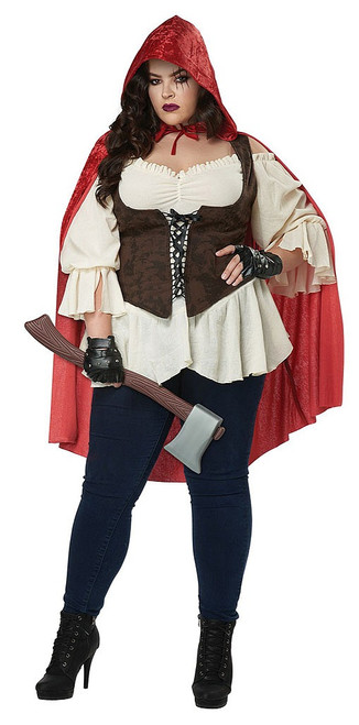 Red Riding Hood Woman Plus Costume