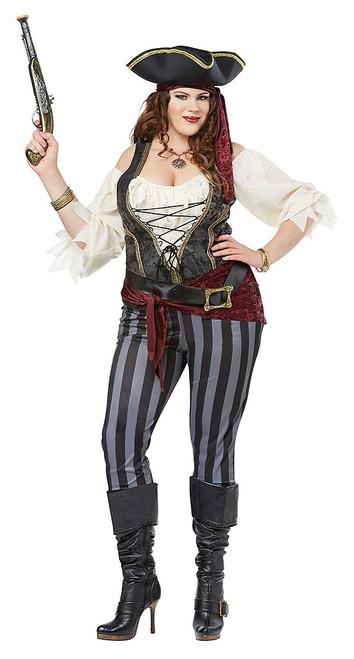 Pirate Woman Plus Costume