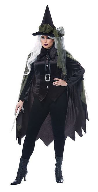 Gothic Witch Woman Plus Costume