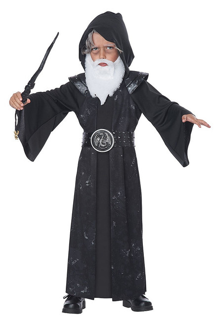 Old Wizard Boy Costume
