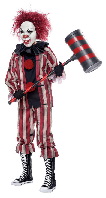 Nightmare Clown Boy Costume