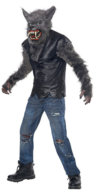 Werewolf Full Moon Fury Boy Costume