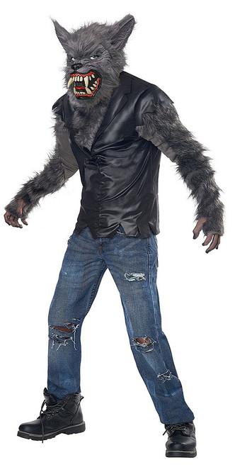 Werewolf Full Moon Fury Boy Costume
