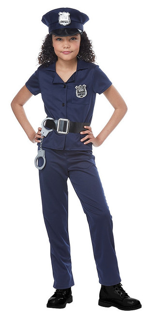Police Agent Girl Costume