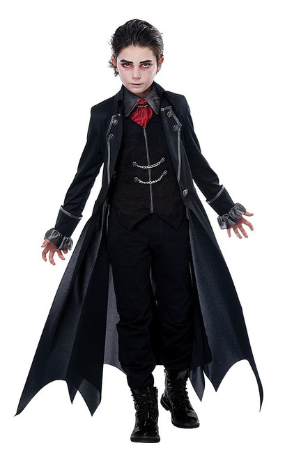 Gothic Vampire Boy Costume