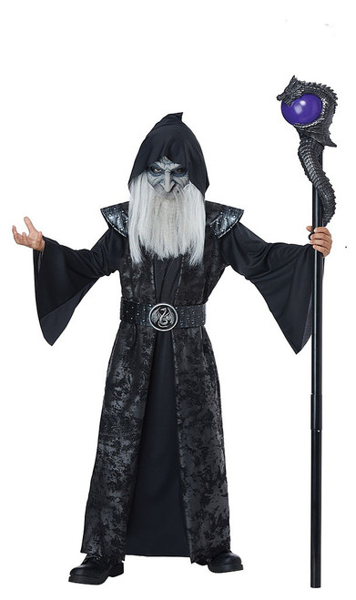 Dark Wizard Boy Costume