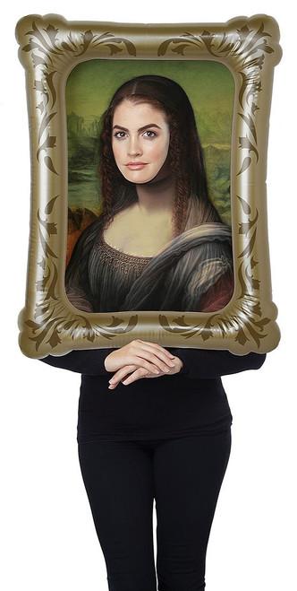 Mona Lisa Frame Woman Costume