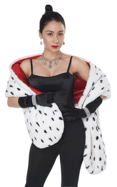 Dog Faux Dalmatian Stole Costume