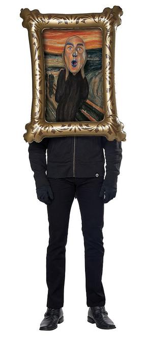 The Scream Frame Man Costume