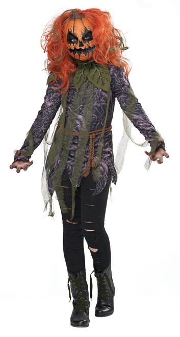 Pumpkin Monster Girl Costume