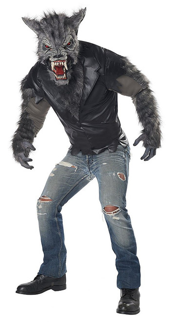 Warewolf Full Moon Fury Man Costume