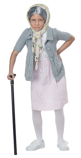 Old Lady Grandma Babushka Girl Accessories