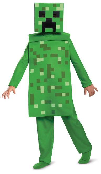 Minecraft Creeper Child Costume