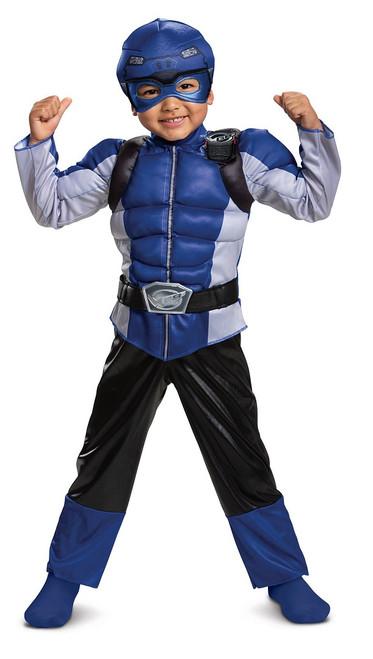 Power Rangers Blue Ranger Beast Morpher Costume