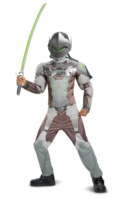 Genji Overwatch Boy Costume