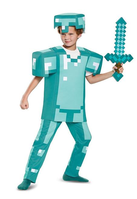 Minecraft Armor Boy Costume