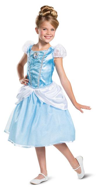 Cinderella Disney Girl Costume Classic