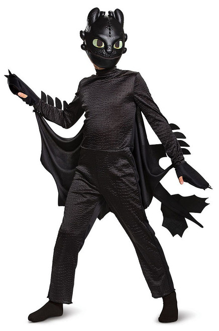 How to Train Dragon 3 Toothless Child Costume