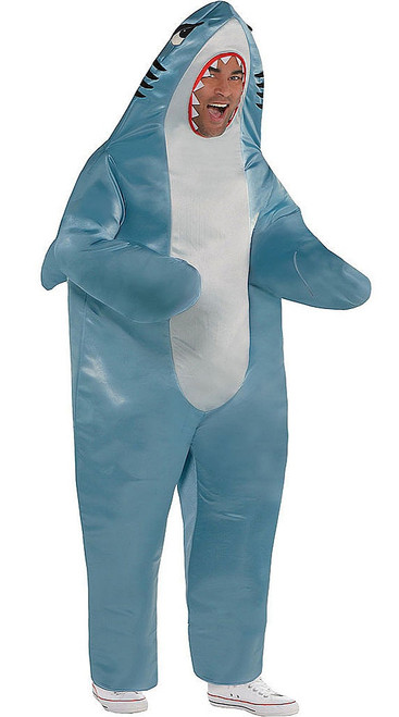 Shark Man Costume Plus