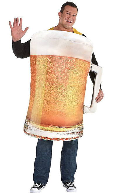 Giant Beer Man Costume Plus