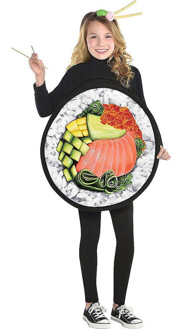 Sushi Roll Girl Costume