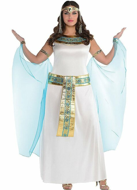 Cleopatra Womens Costume Plus