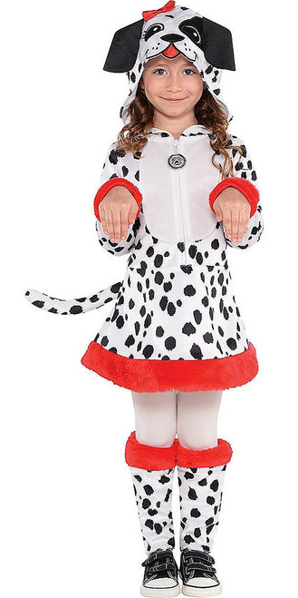 Dotted Doggy Girl Costume