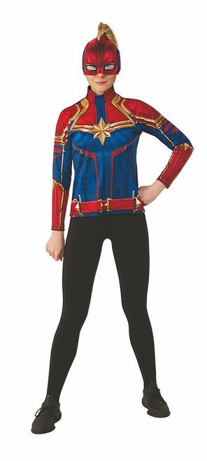 Captain Marvel Adult Costume Top