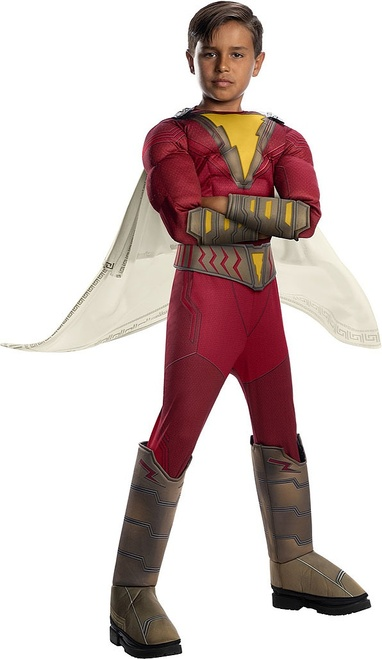 Shazam Child Deluxe Costume