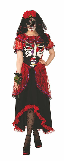 Day Of The Dead Womens Costume