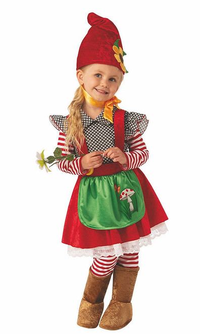 Garden Gnome Girl Costume
