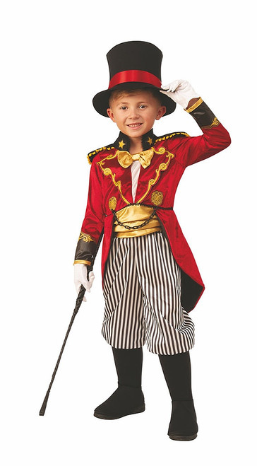 Ringmaster Boy Costume