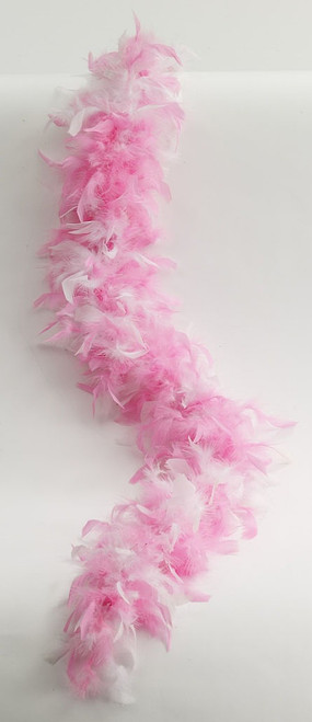 Pink and White Boa