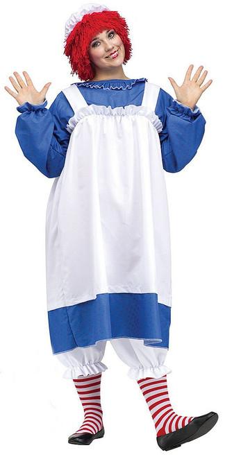 Raggedy Ann Woman Costume