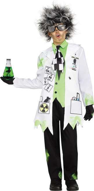 Mad Scientist Boy Costume