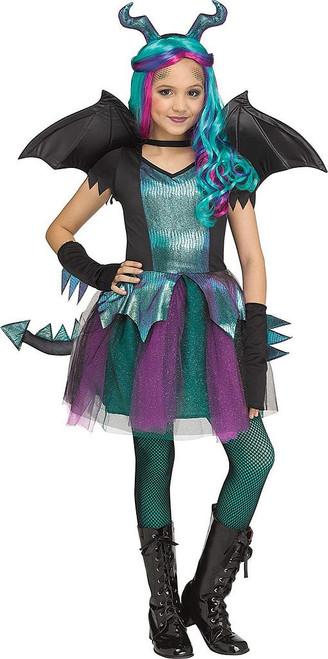 Dark Dragon Girl Costume