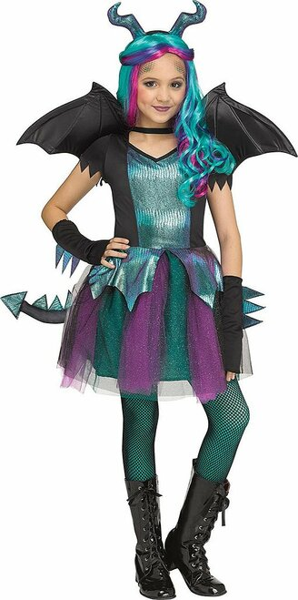 Dark Dragon Girl Costume