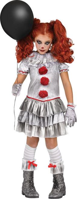 IT Clown Carnevil Girl Costume