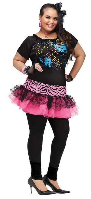 80's Pop Party Woman Costume
