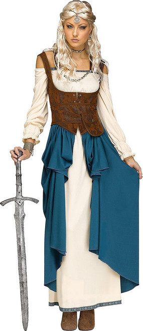 Viking Queen Woman Costume