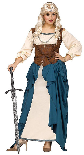 Viking Queen Woman Plus Costume