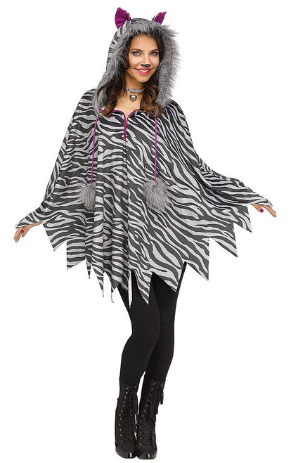 Cat Poncho Woman Costume