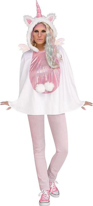 Unicorn Poncho Woman Costume