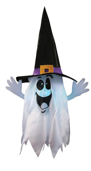 Ghost Float and Gloat with Light up Hanging Decor 24""