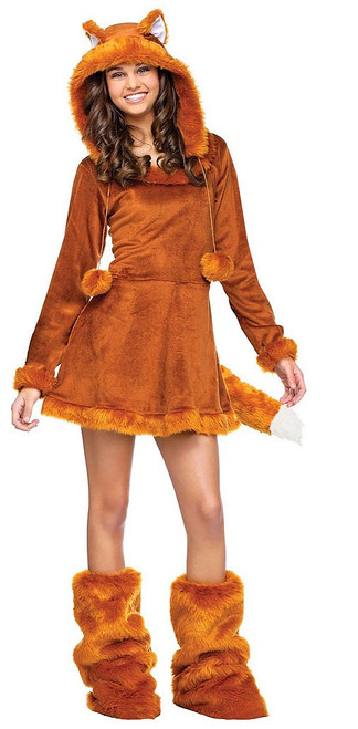 Sweet Fox Teen Girl Costume