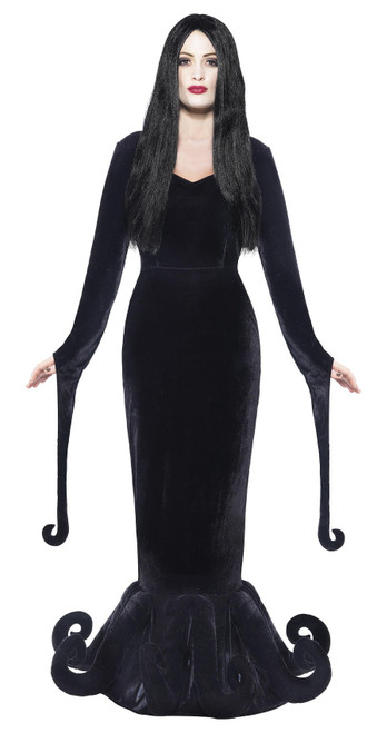 Morticia Addams Duchess of the Manor Woman Costume