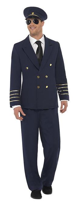 Classic Pilot Man Costume