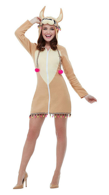 Llama Woman Costume