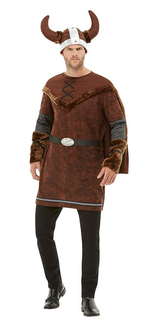 Viking Barbarian Man Costume